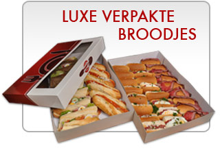 luxe verpakte broodjes